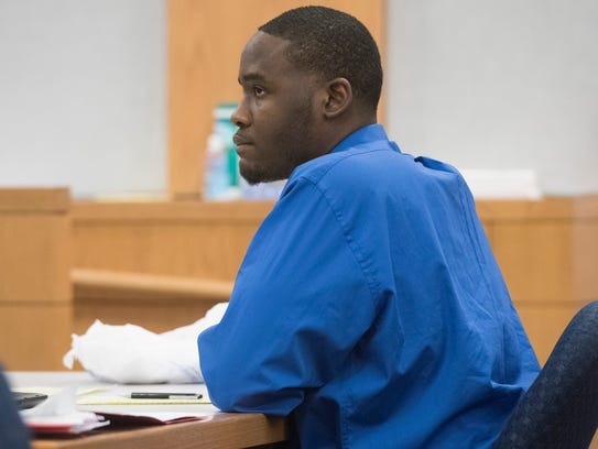 Perry James Ford Jr., 19, is on trial for murder in