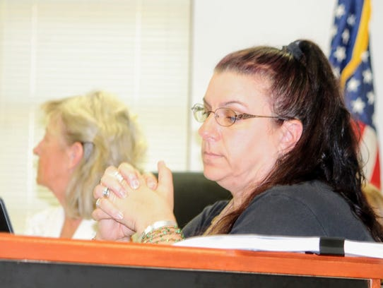 County Commissioner Lori Bies provided input the county's