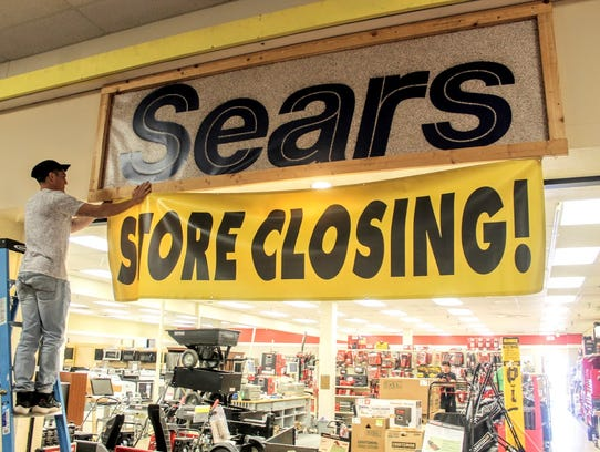 Sears, located at the White Sands Mall, announced that