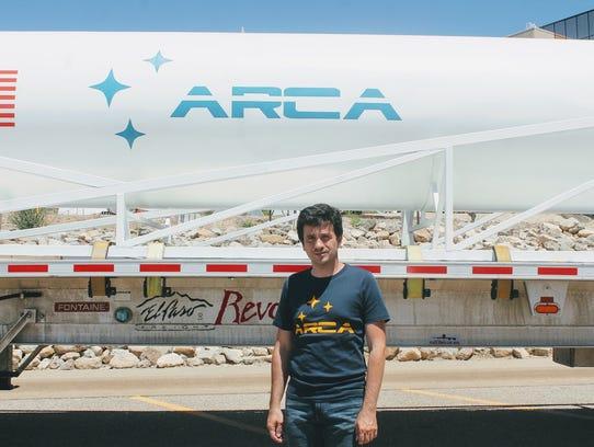 Dumitru Popescu, owner of ARCA Space Corporation in