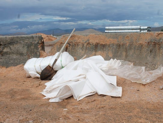 Sandbags can be taken at the Otero County Road Shop,