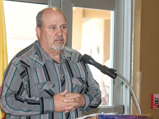 Otero County Sheriff Republican candidate Rod Saint