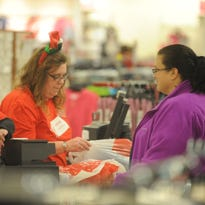 Shoppers made trips to Richmond Square Mall early Friday morning for Black Friday shopping.