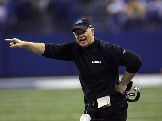 Rod Marinelli finished his Lions tenure with one victory in his final 24 games, including the NFL's first 0-16 season.