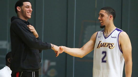 Is LiAngelo Ball really 6-foot-5? Ball's listed height questioned after workout