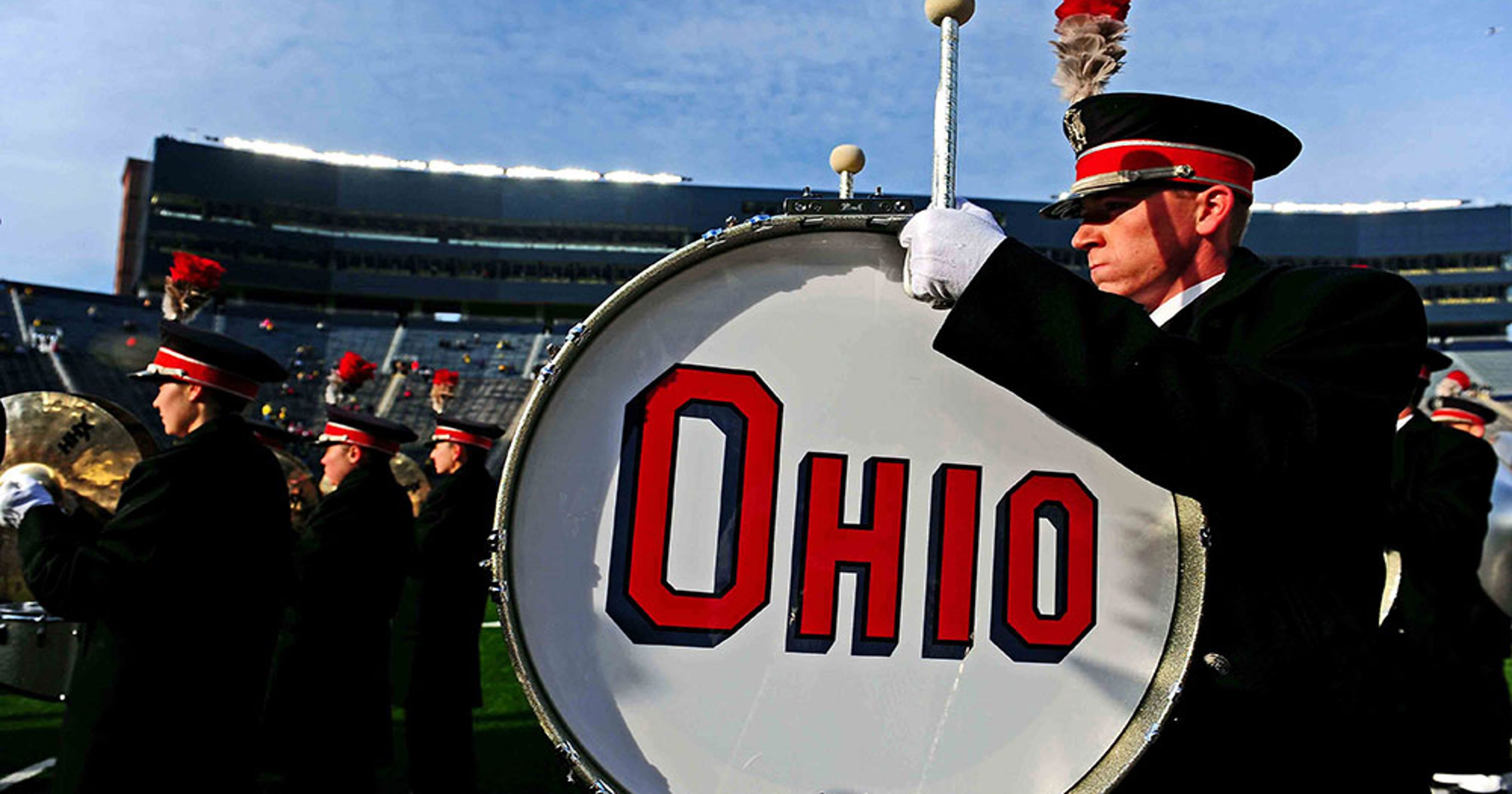 Ohio State marching band's incredible show