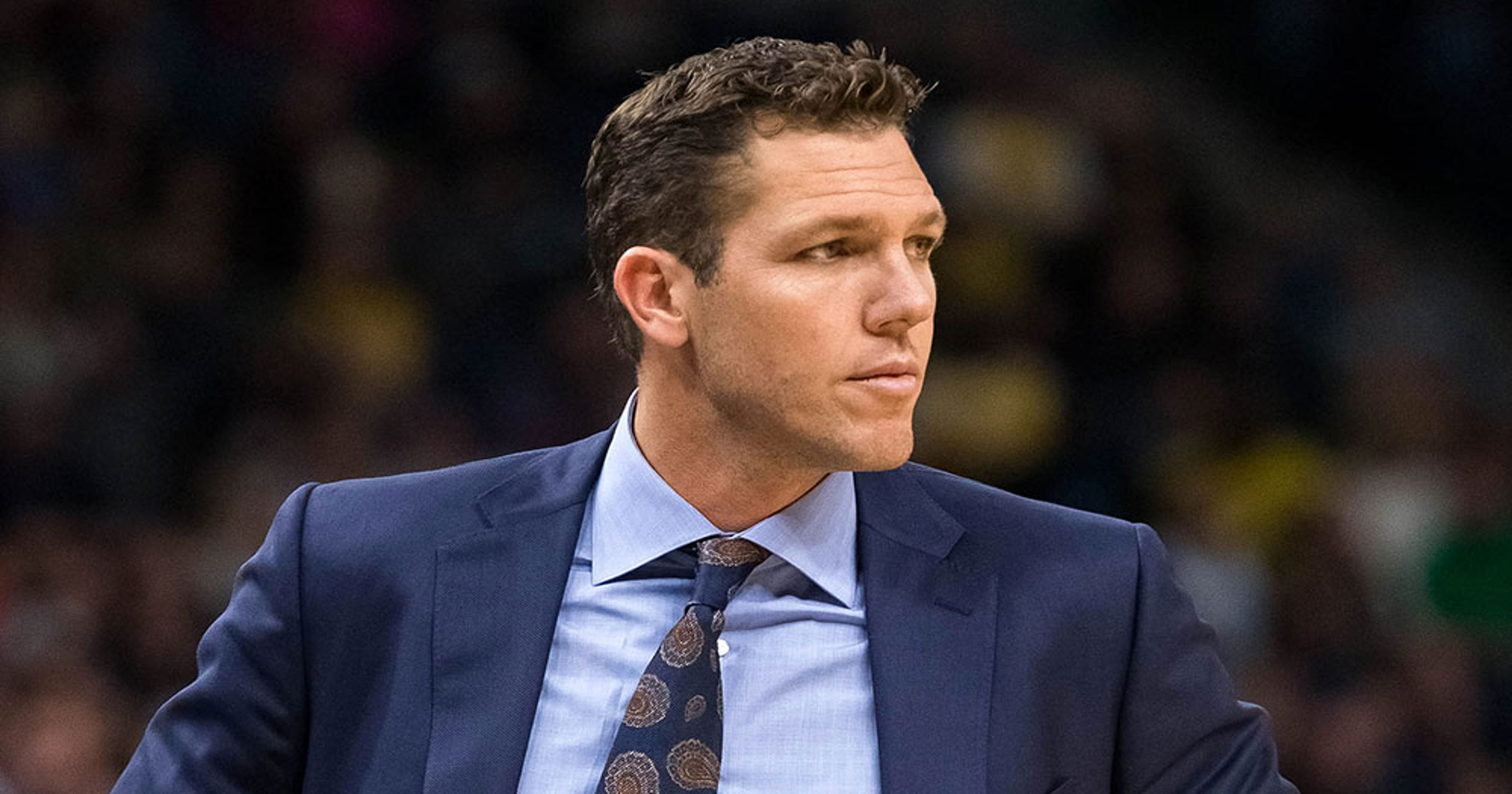 6049c44f57d2f Luke Walton  Lakers  team buses didn t leave coach behind