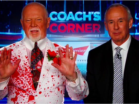 Don Cherry with Ron MacLean