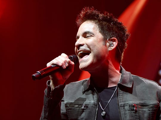 Train, featuring singer Pat Monahan, headlines the Live at the Garden concert series on Friday.