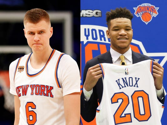 AP NBA DRAFT KNICKS S BKN USA NY