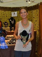Meet artists like the 2015 Best in Show and Best in Jewelry winner Molly Mendenhall at the Ruidoso Art Festival.