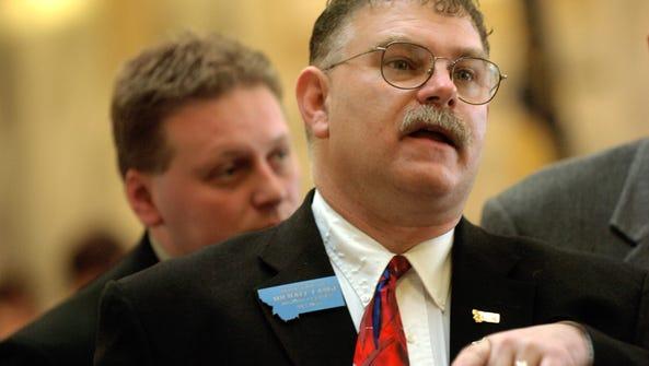 TRIBUNE PHOTO/ROBIN LOZNAK Former state House Majority