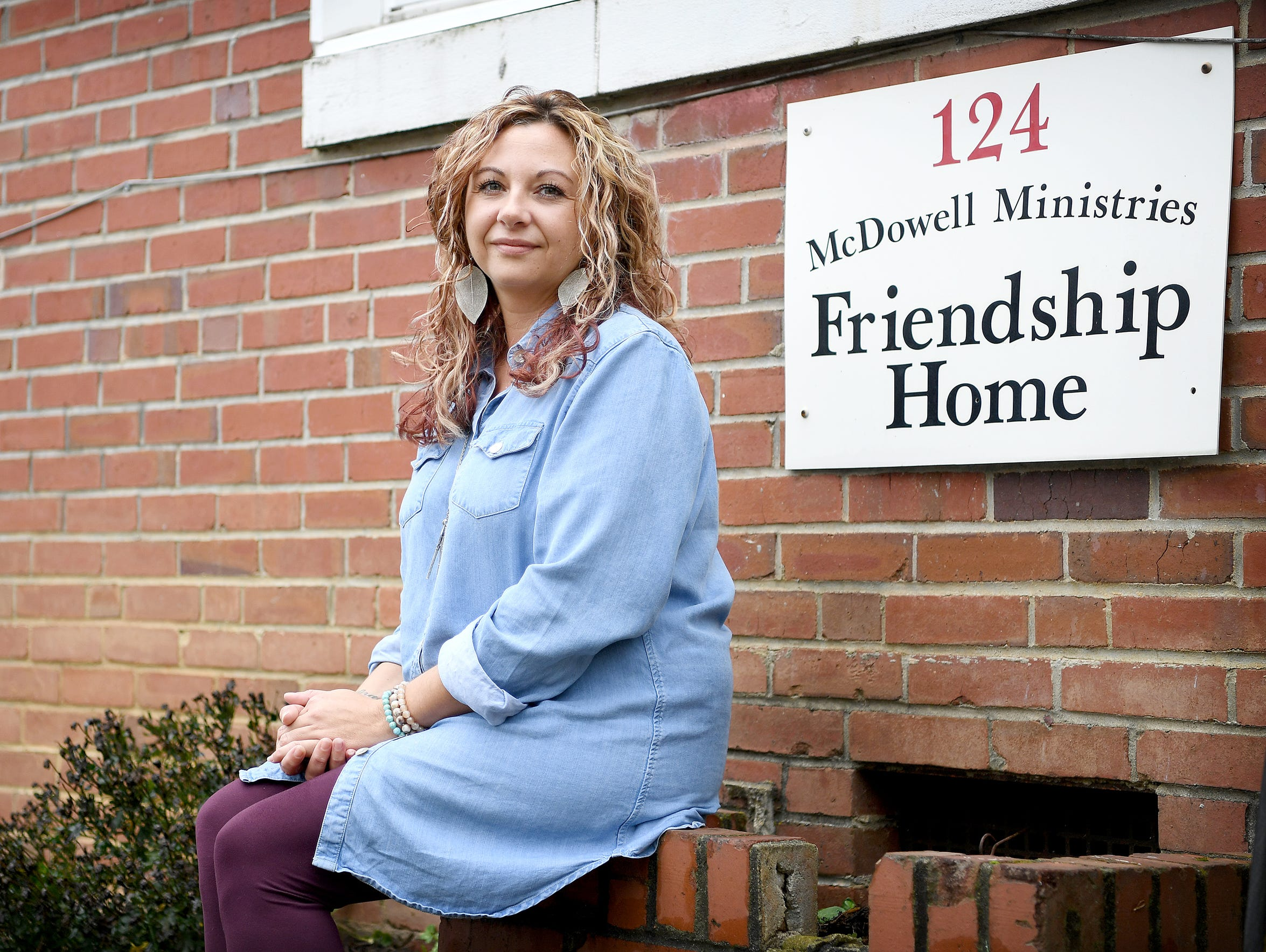 Crystal Sweatt is the manager of the McDowell Mission