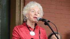 Former Vermont Gov. Madeleine Kunin in 2015.