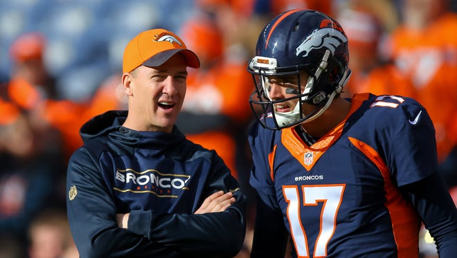 The last Broncos quarterback to start a game not named Peyton Manning or Brock Osweiler (17)? Tim Tebow.