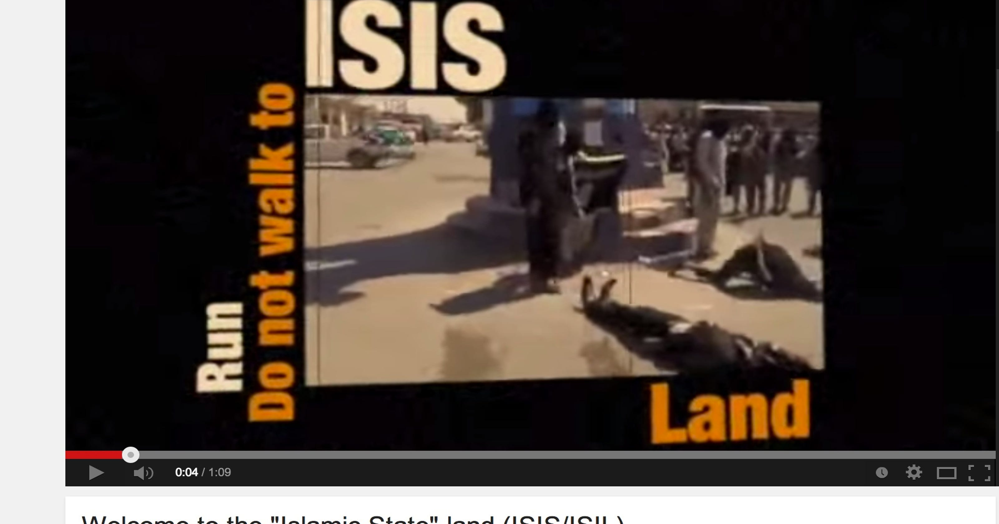 State Dept  releases graphic anti-Islamic State video
