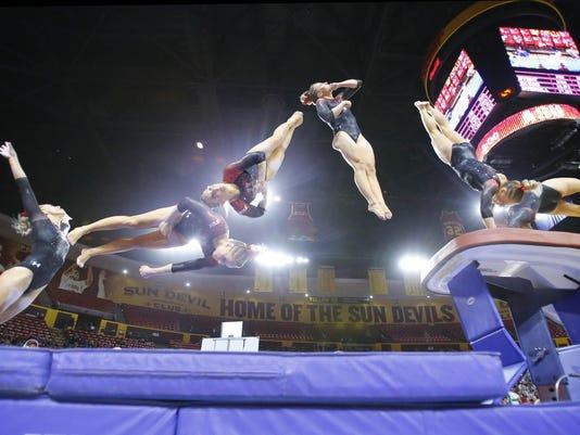 Utah vs ASU Gymnastics