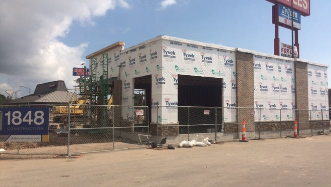 Potbelly Sandwich Shop is making progress on it's Oshkosh location at 1126 S. Koeller St.