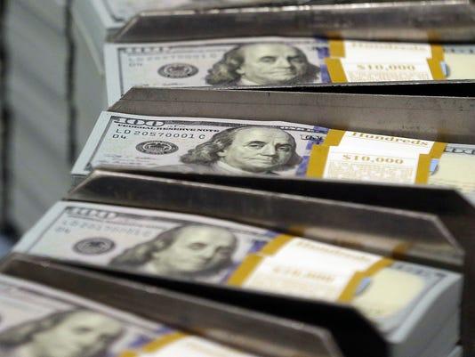 $100 bills, Cash, Currency