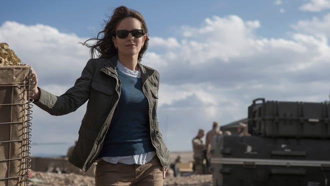 Tina Fey stars as a cable-news journalist on assignment in Kabul in 'Whiskey Tango Foxtrot.'