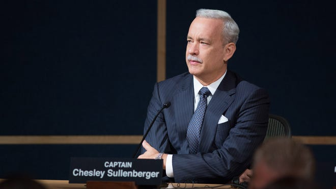 Tom Hanks oozes gravitas as the title pilot of the biopic 'Sully.'