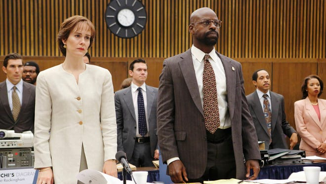 """""""There's a level of understanding that people may not have had 20 years ago when that jury made that decision to acquit,"""" says Sterling K. Brown of the benefit of time and hindsight in 'The People vs. O.J. Simpson: American Crime Story.'"""