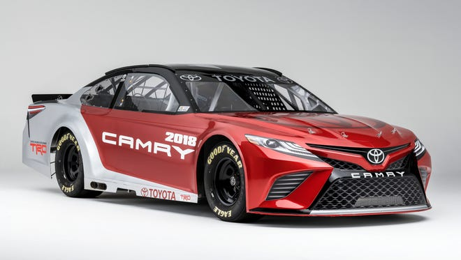 Toyota will field a revamped Camry in NASCAR Cup races this season.