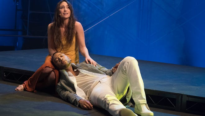 """NBC will be airing its production of 'Jesus Christ Superstar Live In Concert'"""" on April 1 with John Legend as Jesus Christ and Sara Bareilles as Mary Magdalene. It's the latest production on a recent line of live musical events on network television. Here's a look at some other notable productions."""