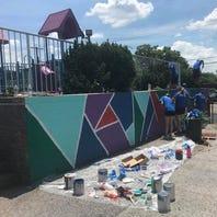 76ers, Virtua, United Way team up to beautify Camden school