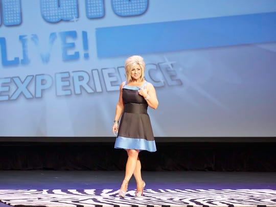 "June 22, 2014: Theresa Caputo, psychic medium, appears live during her tour, ""Theresa Caputo Live! The Experience"""