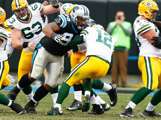 Star Lotulelei is a classic run-plugger in the middle of the line.