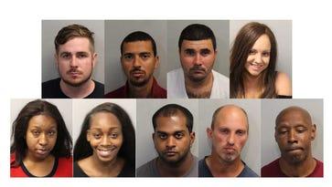 From top left, Stefan Adams, Jose Da Silva, Jucelio Desouza, Lesli Elixon, Courtney Grayson, Caitlyn Hand, Nevin Manimala, Charles Pockowski, Timothy Robinson.