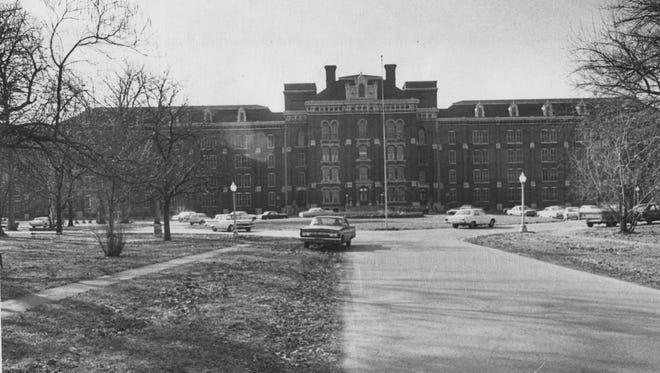 This photo shows the women's building at Central State Hospital in Indianapolis, which was the first structure at the original hospital. Central State was closed in 1994.