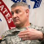 Outgoing Sergeant Major of the Army Raymond Chandler speaks with Army Times on Jan. 20