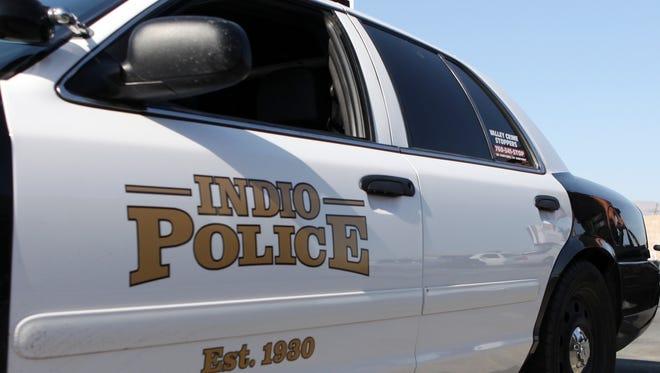 A three-car collision Wednesday evening shut down Calhoun Street at Avenue 48 in Indio.