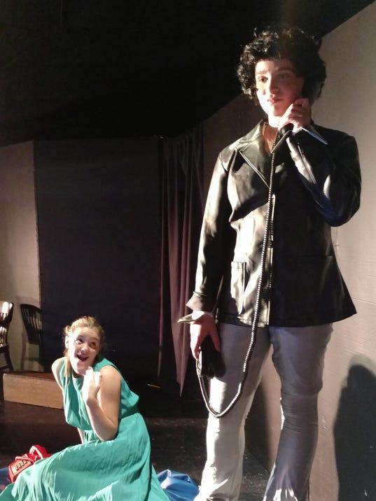 Garden City, Livonia girls rehearse scene