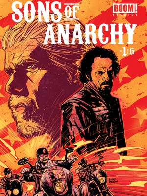 The popular FX TV series 'Sons of Anarchy'   gets the comic-book treatment this fall.