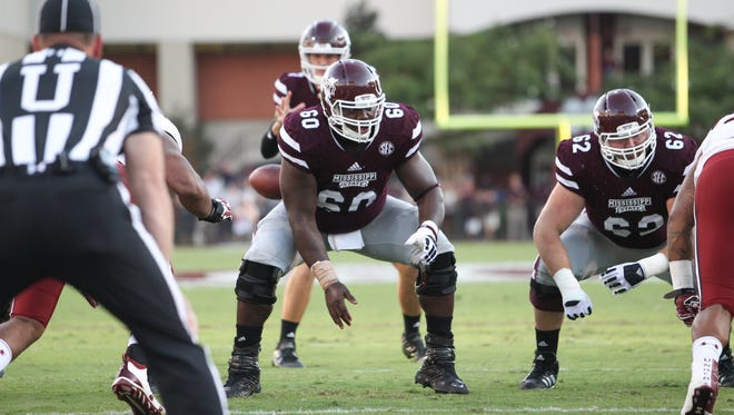 Mississippi State didn't allow a sack last week against Texas A&M its opponent this week, Alabama leads the country in sacks.