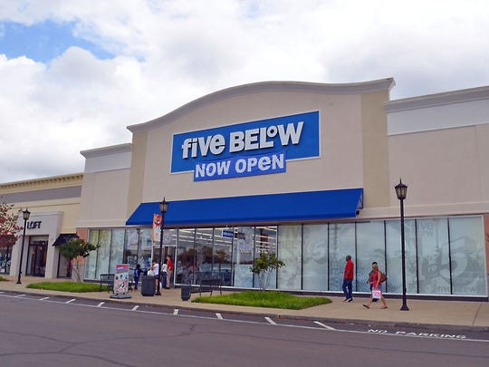 Five Below is located in Dogwood at 136 Dogwood Blvd. in Flowood.