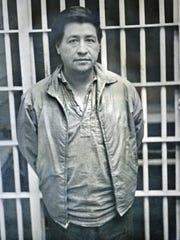 En 1970, el líder de los trabajadores César Chávez pasó 20 días en la antigua Cárcel del Condado de Monterey en Salinas. Foto proporcionada por Juan Martínez.
