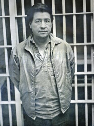 In 1970, labor leader Cesar Chavez spent 20 days in the Old Monterey County Jail in Salinas. provided by Juan Martinez Photo provided by Juan Martinez. In 1970, labor leader Cesar Chavez spent 20 days in the Old Monterey County Jail in Salinas.