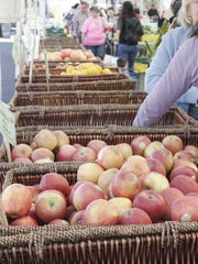 Produce from McClendon's Select at the Uptown Farmers