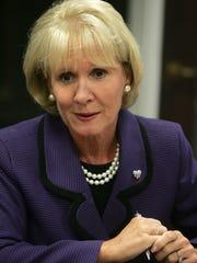 Assemblywoman Mary Pat Angelini, R-Monmouth, attends an editorial board meeting at the Asbury Park Press in 2011. Angelini plans to introduce legislation banning adult incest in New Jersey. (Staff photo by Tanya Breen)