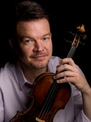 CSO concertmaster Timothy Lees is soloist in Barber's Violin Concerto in an all-American concert.