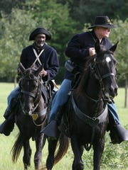 The Union troops will once again charge down the main street of town when the Battle of Marianna is re-staged by Civil War re-enactors on Saturday.