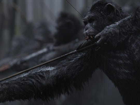 """The War of the Planet of the Apes"" opens this summer."