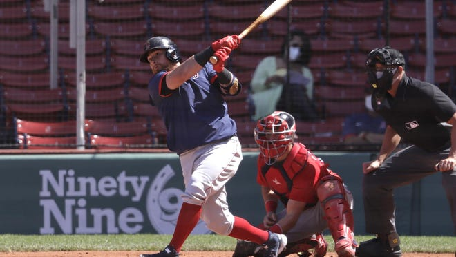 Christian Vazquez was among those in the Red Sox lineup for Tuesday's game against the Blue Jays.