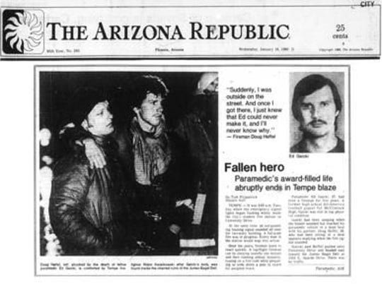 An Arizona Republic issue from January 1980 chronicled