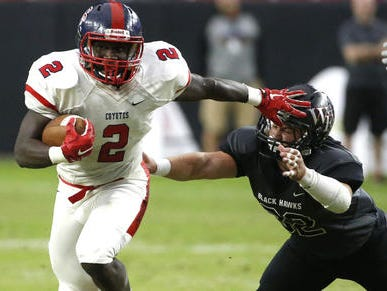 Zidane Thomas, one of the top running backs in Arizona, has left Centennial High to move to Florida to live with his mom