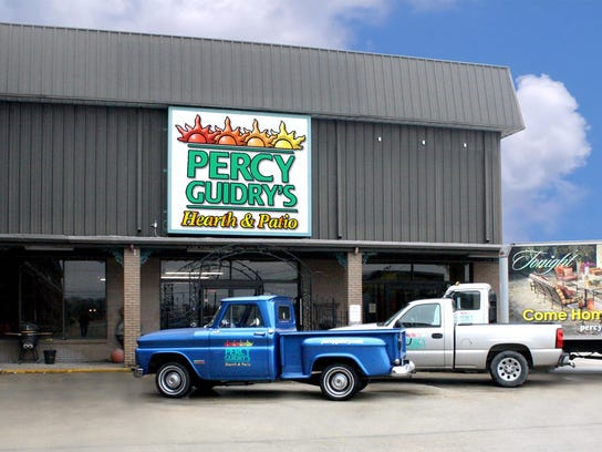 Percy Guidry won best outdoor/patio store during this